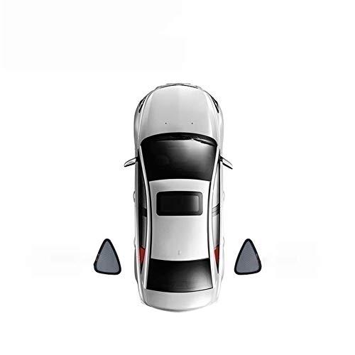WQNM For Audi Q3 / Q5 / Q5L / Q7 Magnéticas Especiales Cortina De Ventana Sombrillas Mallas Sombra Ciega Totalmente Cubierto Coche Anti-mirón (Size : 2 Triangular Windows)