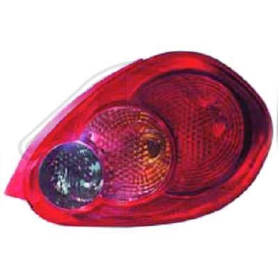 6600091 achterlicht links (bestuurderszijde) voor T. Aygo van 2005 tot 2009 originele look