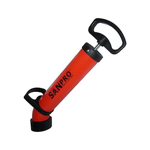 SANPRO Druckrohrreiniger/Abflussreiniger Pumpe/Rohrreinigungspumpe