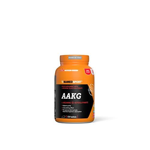 Named 54176 Aakg, Integratore Alimentare a Base di Arginina Alfa-Chetoglutarato, 120 compresse