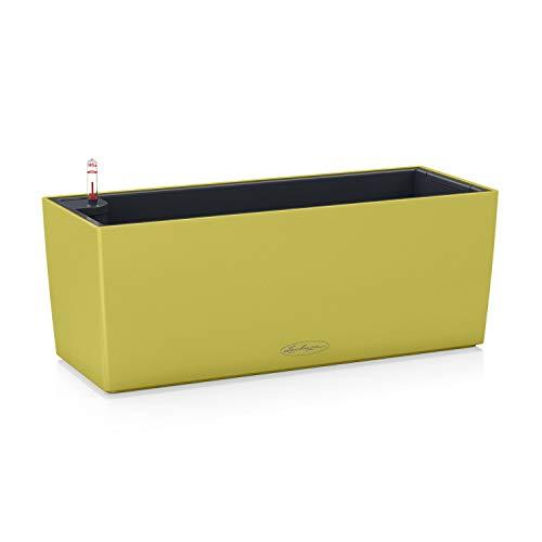 Lechuza – Balconera Color – Pot avec réserve d'eau intégrée – Pistache - 50 x 19 x 19 cm