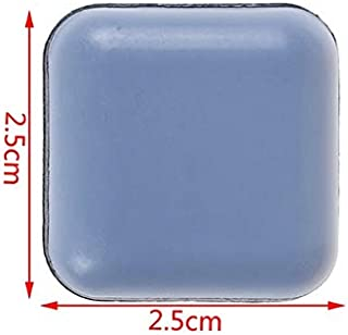SHUHAO 4pcs/6pcs/8pcs Slider Pad Furniture Table Bases Protector Coaster Carpet Ground Magic Moving Anti-abrasion Floor Mat (Color : Ivory)