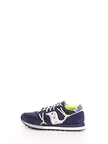 Saucony Jazz Dst Sneaker Uomo 70528 9 Navy Silver (Numeric_40)