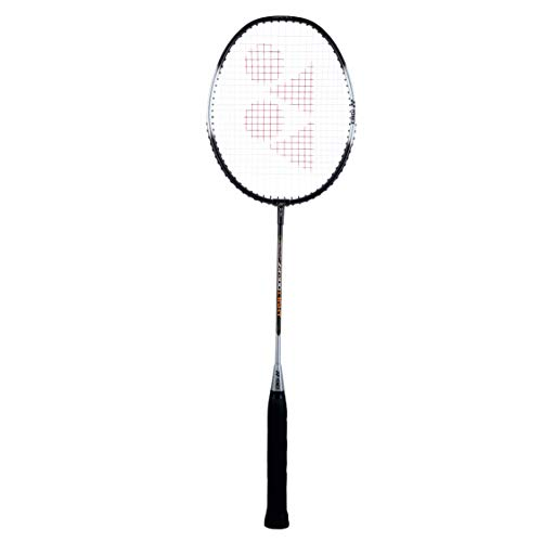 Yonex ZR 100 Light Aluminium Badminton Racquet with Full Cover | Made in India (Black)