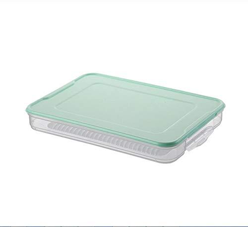 Knoedel box bevroren bollen bevroren huishoudelijke koelkast bollen doos opbergdoos opbergdoos bevroren bollen lade box (Color : B, Size : 30.5 * 22 * 4cm)