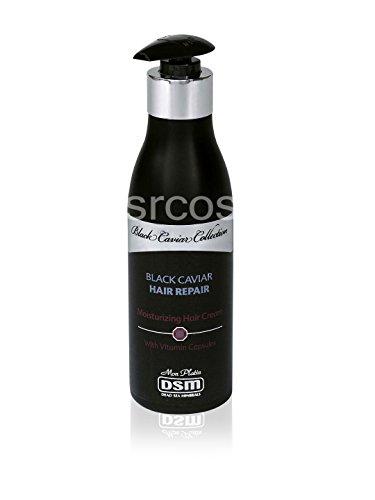 Mon Platin DSM Black Caviar Moisturizing Hair Cream With Vitamin Capsules 250ml 8.8fl.oz