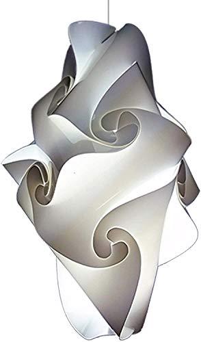 Guapa Lámpara de techo moderna para cocina salón baño entrada color Blanco lámpara a suspension de diseño compatible con bombilla a LED E27