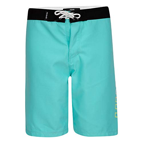 Hurley Boys' Classic Board Shorts, Aurora Green, 3T