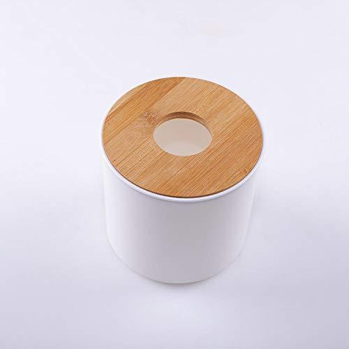 Qianqingkun Tissue box, ladekast, creatieve roll papier servet opbergdoos voor thuis woonkamer en slaapkamer Cylindrical