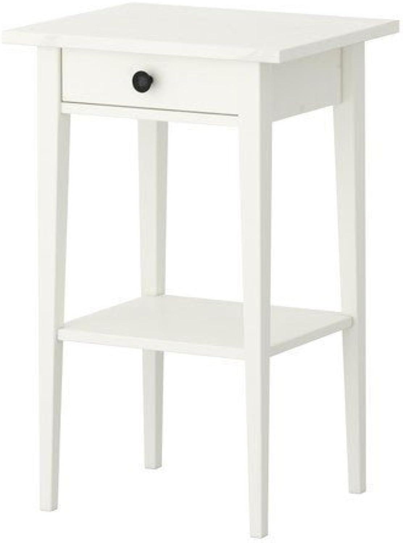Ikea HEMNES–Nachttisch–46x 35Zentimeter–Farbe  wei