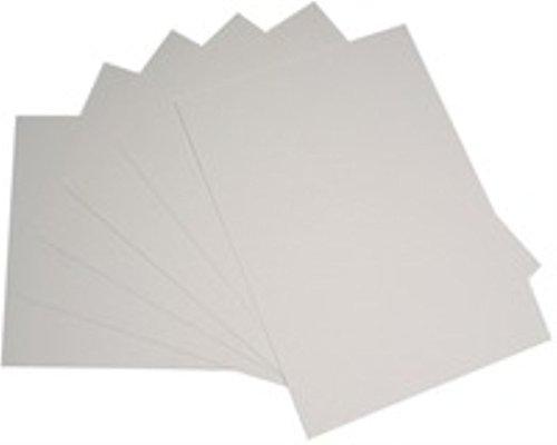 RDINDUST - Cartulinas (20 unidades, tamaño A3), color blanco
