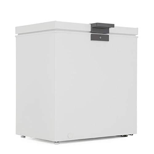 Hoover HMCH152EL Chest Freezer, 142 Litre, A+ Energy Rating, White