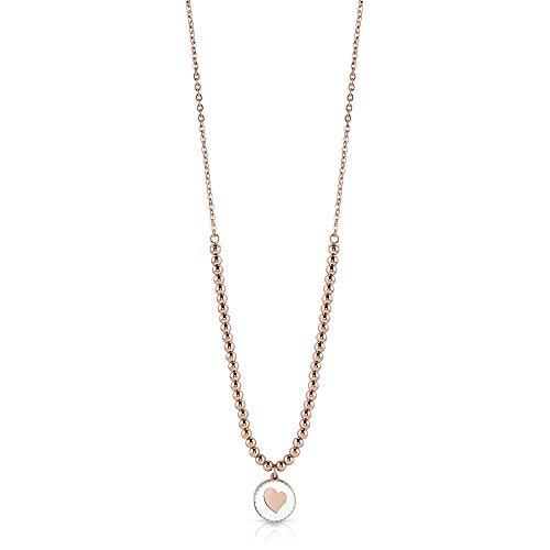 Guess Damen Halskette mit Herz aus Stahl Angebot Trendy UBN78080