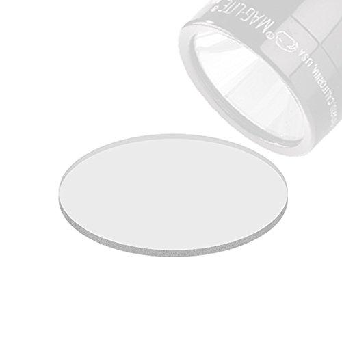 Weltool GL2 Maglite - Linterna para Lentes de C/D Batería Maglite Cristal Templado, inastillable y ultratransparente (2pcs)