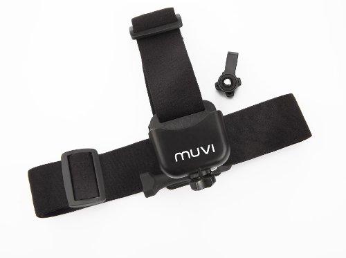 Veho Muvi Hoofdband Bandsteun voor Muvi KX-serie   Muvi K-serie   Muvi HD   Muvi Micro - Zwart (VCC-A014-HM)