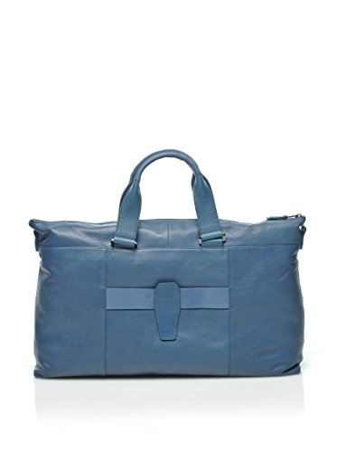 Piquadro Maleta, 28 cm, 21 L, Azul