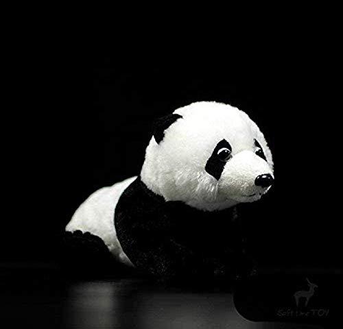 Knuffel Liggende Panda Knuffel Simulatie Reuze Inktvis Knuffel Schattige dieren Pluche poppen voor kinderen Jongens Meisjes Geschenken