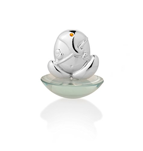 Episode Silver 92.5 Beautiful Large Pebble Ganesha (D :7.5 * 7.5 * 8.5 cms)