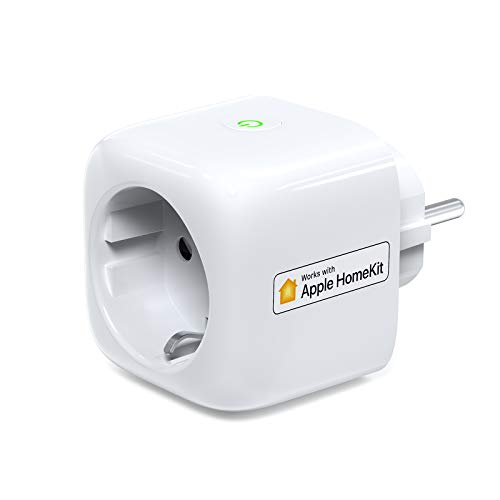 Smart Plug, Koogeek 2,4 GHz Wi-Fi-fähiger smarte Steckdose kompatibel mit HomeKit, Siri, Alexa und Google Home App für iOS 13.0 und Android