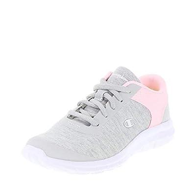 Champion Grey Pink Girls' Performance Gusto Cross Trainer 6 Regular by