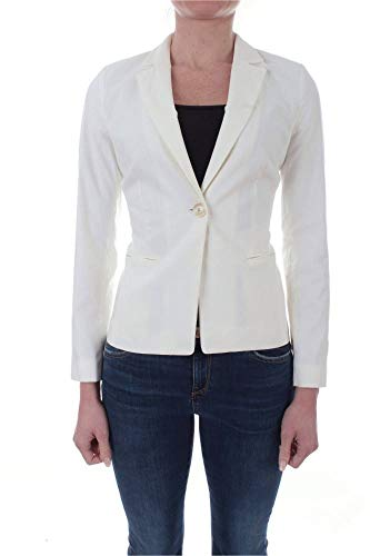 Luxury Fashion | Twin-set Dames 201TP251000282 Wit Viscose Blazers | Lente-zomer 20