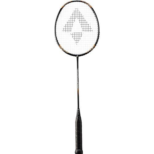 TECNOPRO Herren Tornado 900 Badmintonschläger, Black/ORANGE/Grey, 3 1/2