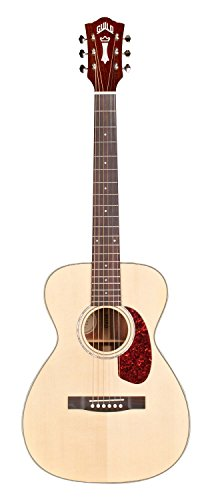 Guild M-140E Acoustic-Electric Guitar in Natural