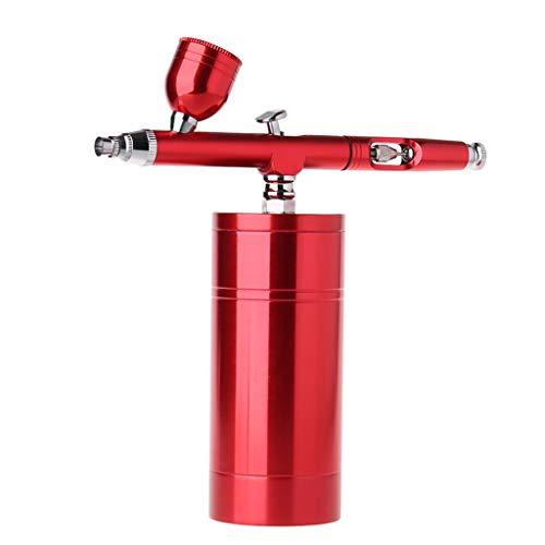 Bogji - mini niet-olie airbrush kleur spuitpistool sprayer compressor kit set voor lichaamsbeschildering tattoo handwerk cake model