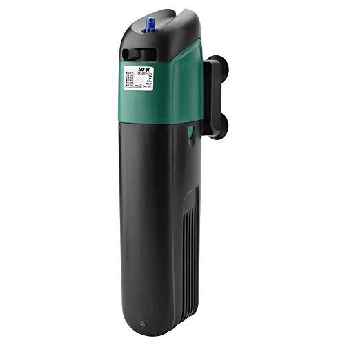 Filtre d'aquarium Stérilisateur UV Lampe Stérilisateur à la lumière UV Filtre de clarificateur Pompe à oxygène Réservoir de Poissons Purification de l'eau Étang Piscine Stérilisateur UV Lumière (9W)