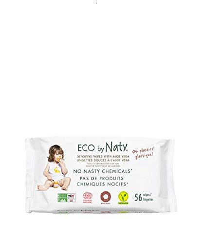 Naty 1703496031 - toallitas con aloe vera 56 uds