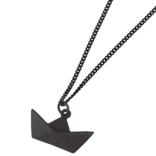 LHXMY Glamour Lady eenvoudige Origami boot korte ketting sleutelbeen ketting dames accessoires cadeau