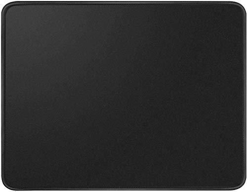 Preisvergleich Produktbild EFISH Computer-Mauspad mit Rutschfester Gummibasis, Premium-Strukturiert mit Genähten Kanten, Mauspads für Computer, Laptop, Büro und Haushalt, 10.2 X 8.3 X 0.08 Zoll(260 X 210 X 2 MM)--Schwarz