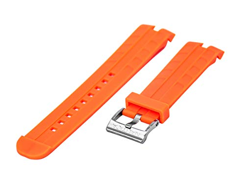 Nautica Men's A14640G NST 401 Date Safety Orange 22mm Original Replacement Watchband