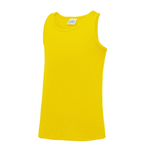 AWDis Just Cool - Camiseta sin mangas lisa para niños