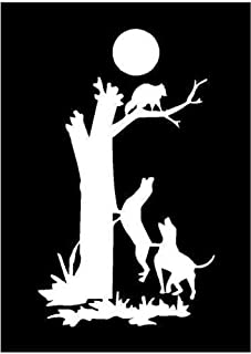 coon hunting stickers