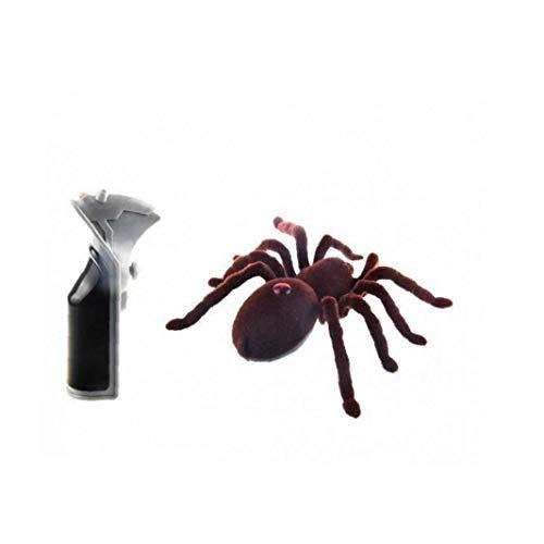 Wilk Decoración De Simulación Remoto Araña Control De Propulsión Suave Animal De Halloween Prop Reutilizable Aterradora para Adornos De Halloween De