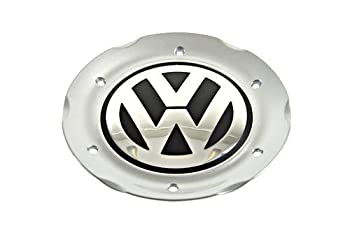 VW Genuine 16 Alloy Wheel Center Hub Chrome Gray Cap 1 pcs New Beetle 02-05