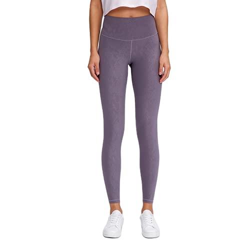 QTJY Pantalones de Yoga para Mujer de Cintura Alta, Pantalones Deportivos para Fitness, Delgados, levantadores de Cadera, Flexiones y Pantalones de Entrenamiento para Celulitis J M