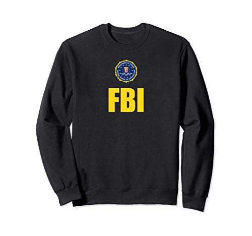 FBI Shirt, Logo de sceau de poitrine d'agent fédéral Sweatshirt