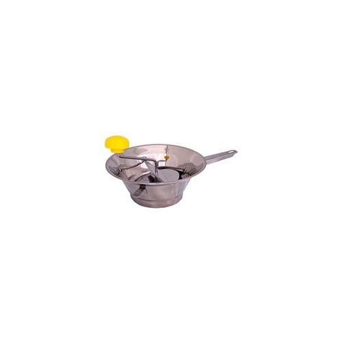 FRATELLI RIVADOSSI GAL-121682 PASSAVERDURA RONDO' Economy 3D Inox 16 cm, riveté, acier