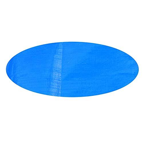 SSLLH Solarabdeckplane für Pool Blau,Premium Solarplane,Abdeckplane für Frame Pool,verringert Wasser-Verdunstung,Profi Pool Solarabdeckplane,Für Schwimmbad, Regenschutz Staubdicht UV-beständig,Blau