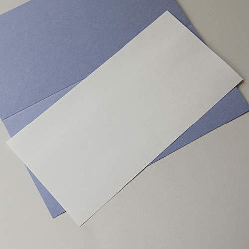 100 altweiße, kräftige Einlegeblätter 10,3 x 20,8 cm, Munken Pure 170 g/qm (für lang-DIN-Klappkarten)