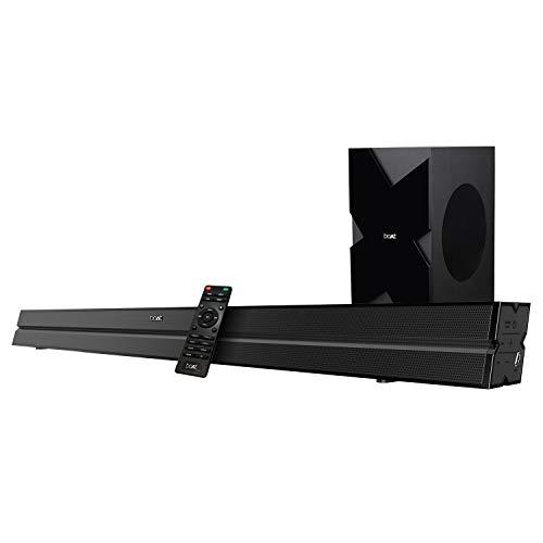 Boat Aavante 2000 160w 2.1 Channel Wireless;USB;HDMI;AUX;Bluetooth Soundbar Speaker,Black