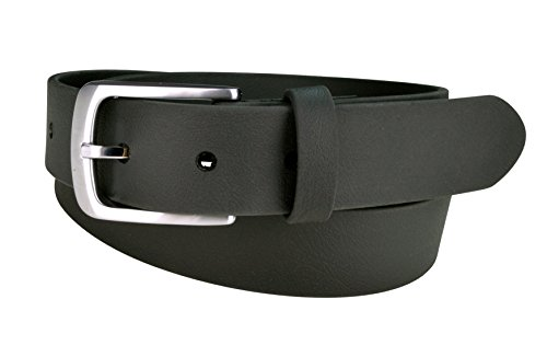 Vegan Belts for Men, Durable Tough Belt, Casual or Dressy (SPARROW Black, 34)