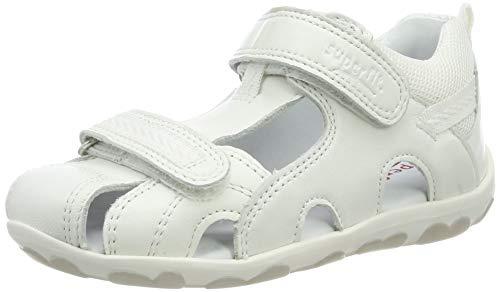Superfit Baby Mädchen Fanni Sandalen, Weiß (Weiss Kombi 51), 26 EU
