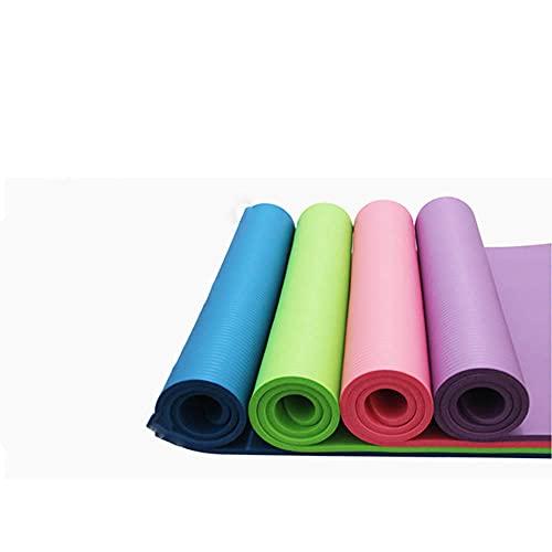 Yumhouse Colchoneta de Gimnasia,Alfombrilla de Yoga multifunción respetuosa con el Medio Ambiente, Alfombrilla de Fitness, Placa de Soporte, Color Mezclado_183 * 61 * 1,Entrenamiento Deportivo