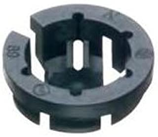 Arlington NM94 Non-Metallic Push-In Connector Plastic Black 3/8 Inch 250/Pack Black Button™