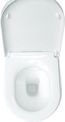 LAVITA KERAMIK HÄNGE-WC-TOILETTE #92035 SPÜLRANDLOS + SOFT-CLOSE - 5