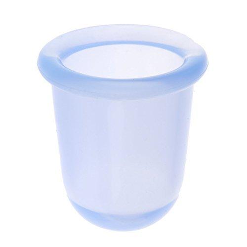 Nabati Lot de 2 tasses de massage anti-cellulite en silicone pour le visage Bleu Taille M