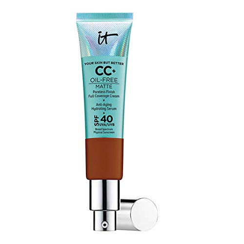 IT Cosmetics Your Skin But Better CC+ Cream with SPF 40+ 32ml (Deep)